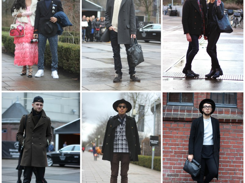AFW FW 2015 Street Style - Boys and Couples