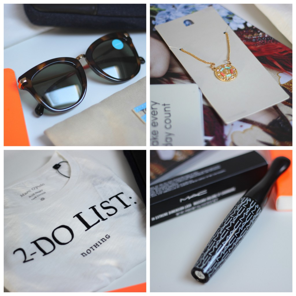 Give Away justkvn toms, mac cosmetics, we fashion, marcopolo