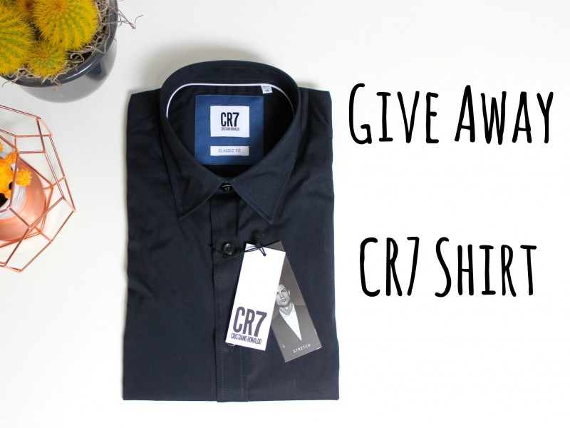Give Away Cr7 Shirt JustKVN Menswear blog-4