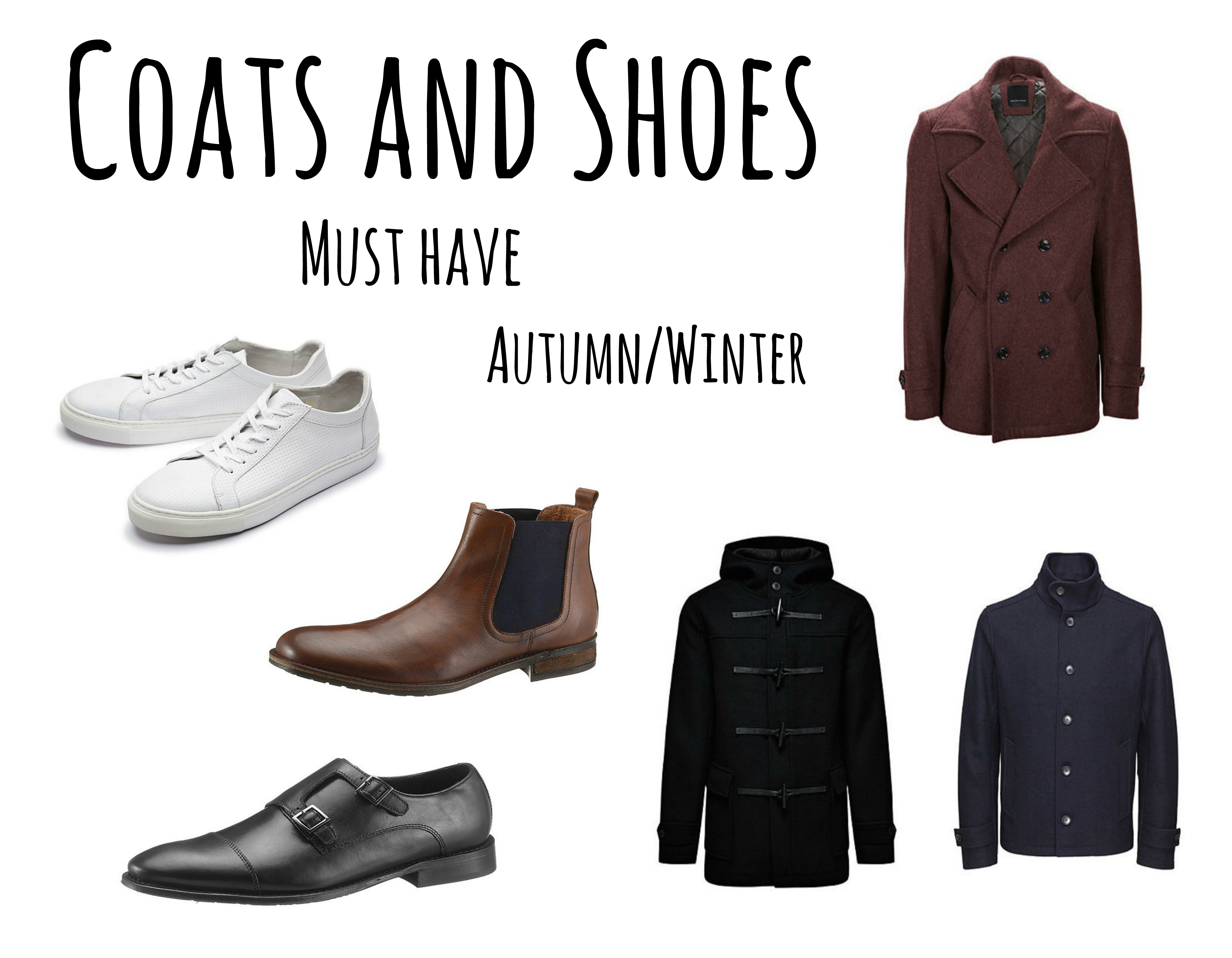 Coats and Shoes Must Have AW