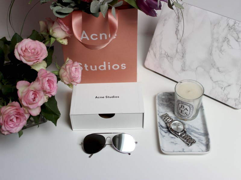Acne Studios Sunglasses Spitfire Large Palladium:Flash Silver JustKVN menswear blog