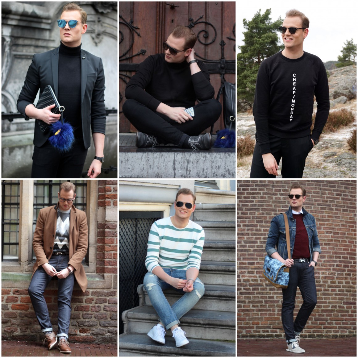Recap outfits January, February and March JustKVN menswear and lifestyle blog