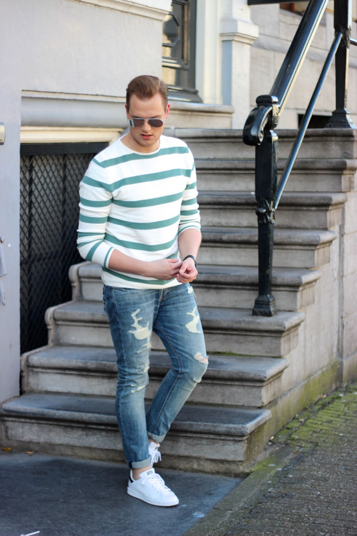 Stripes for Spring JustKVN menswear and lifestyle blog