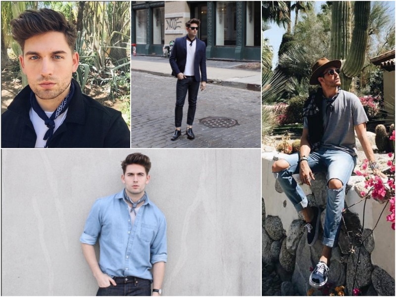 Trend inspiration Neckerchiefs JustKVN menswear and lifestyle blog