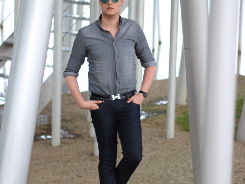 Grey Denim ft Loafers Undandy M.Studio Menlook Acne Studios Calvin Klein jeans JustKVN menswear and lifestyle blog