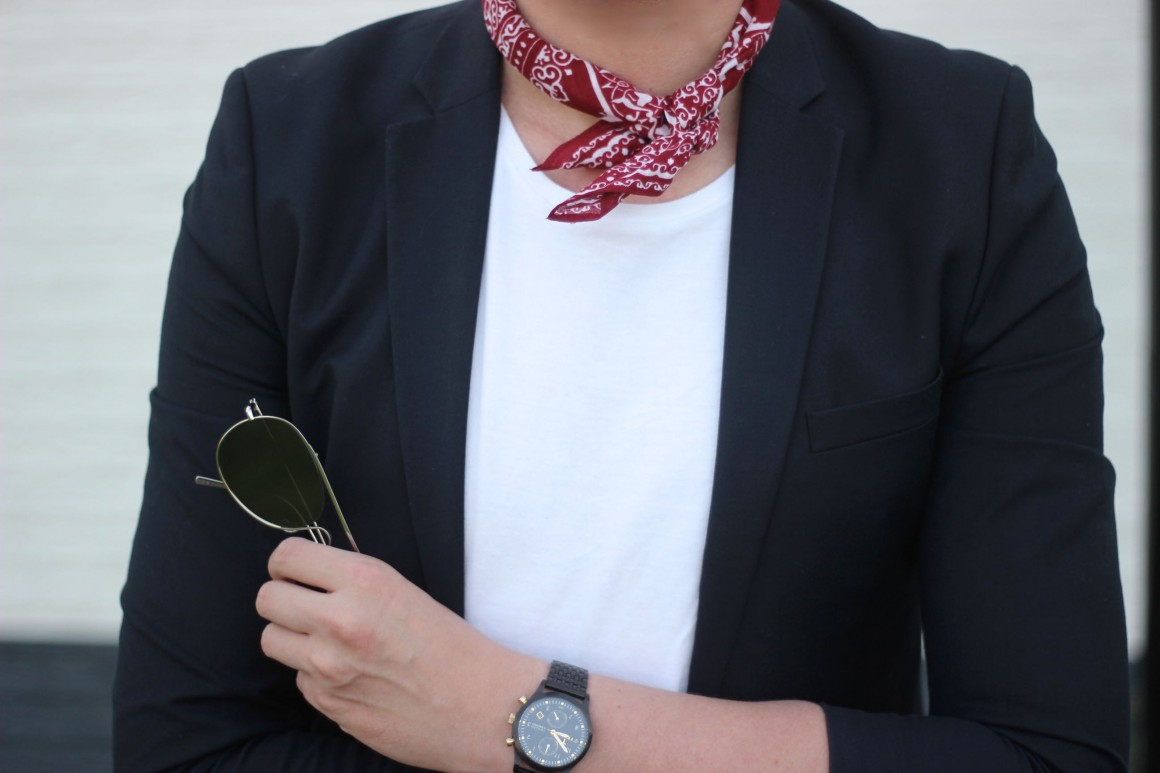 Neckerchief outft JustKVN menswear and lifestyle blog