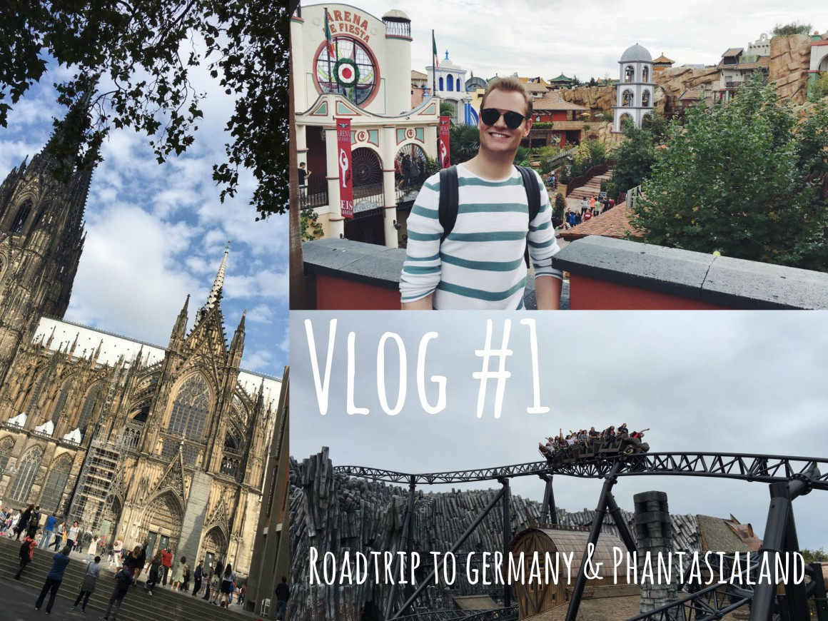 My First Vlog - Road trip to Germany and Phantasialand JustKVN menswear and lifestyle blog