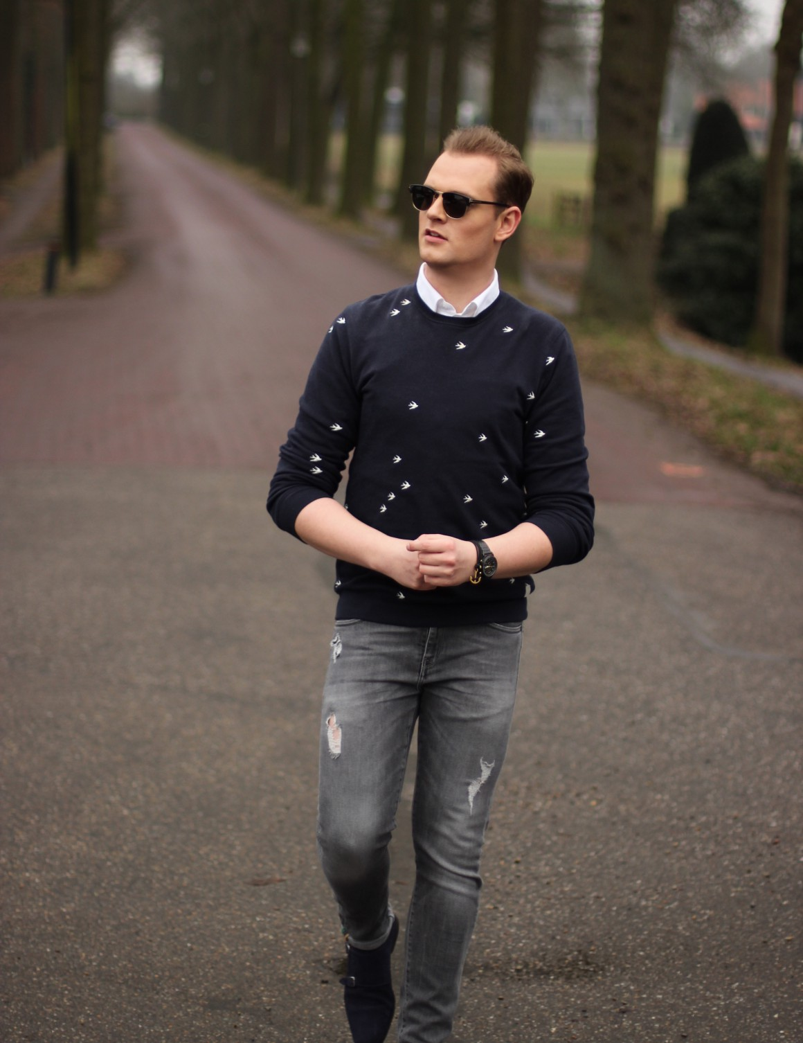 Birds The Sting sweater JustKVN menswear and lifestyle blog