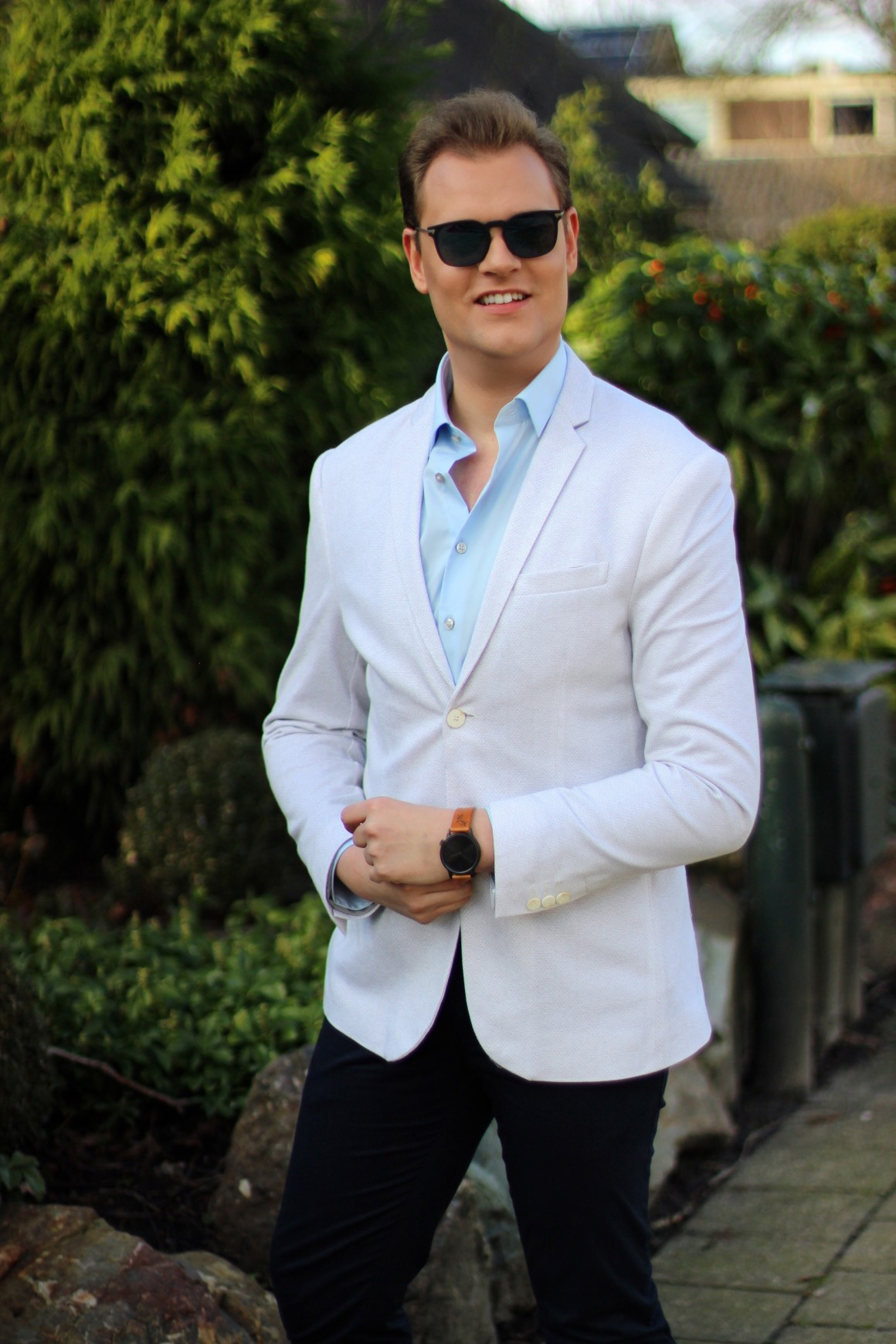 Valentine's outfit JustKVN menswear and lifestyle blog