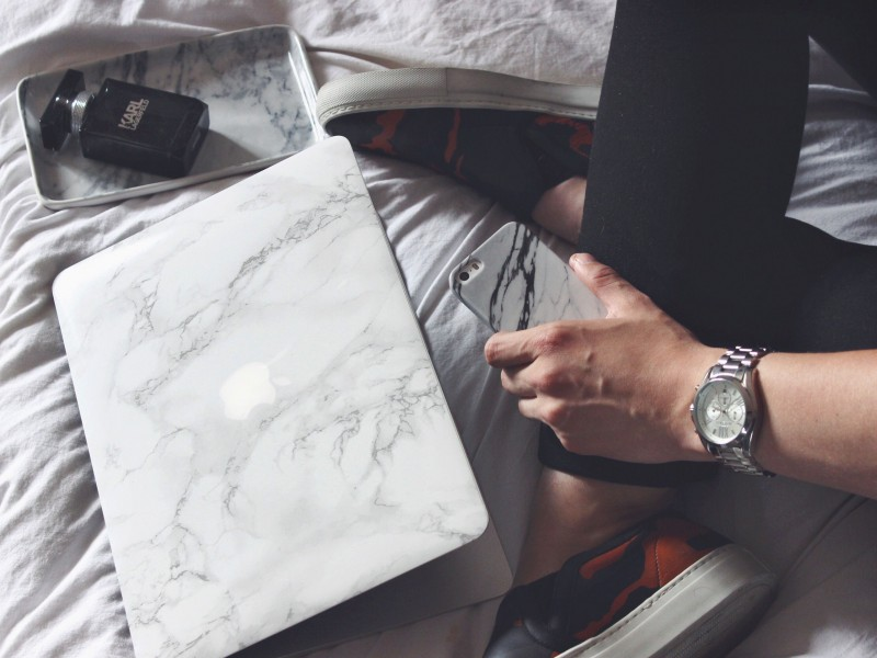 Marble Macbook Case JustKVN MensFashionBlogger