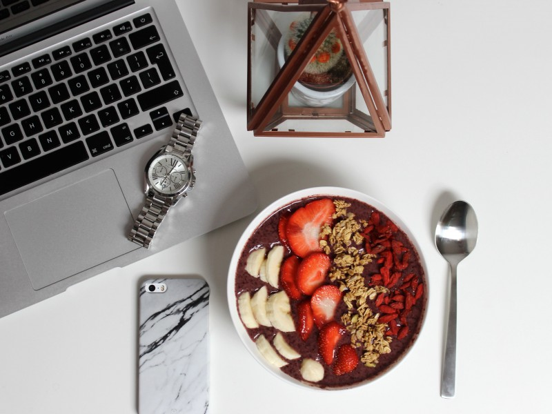 Acai Bowl Recipe JustKVN menswear blog