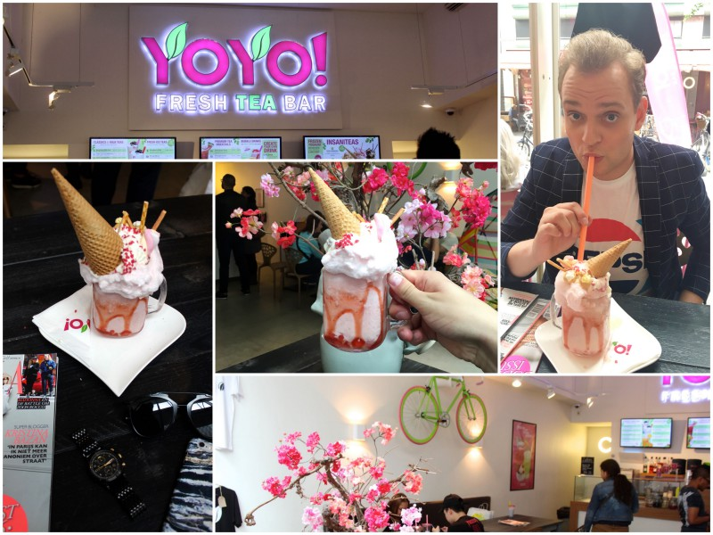 Hotspot Rotterdam YoYo Fresh Tea Bar Insanitea JustKVN menswear and lifestyle blog coll