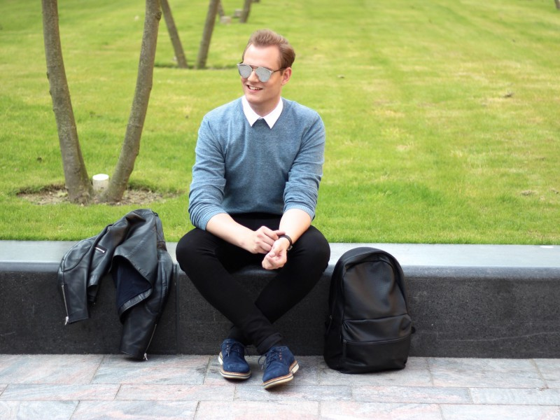 Shades of Blue JustKVN menswear and lifestyle blog