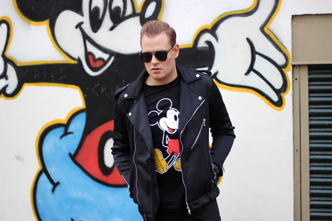 Mickey Mouse JustKVN menswear and lifestyle blog