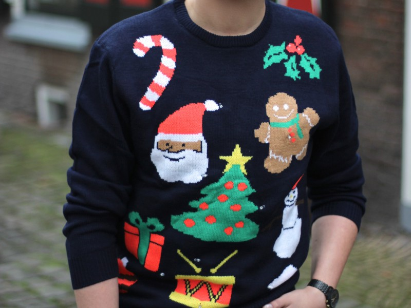 Ugly Christmas Sweater 2016 - JustKVN menswear and lifestyle blog