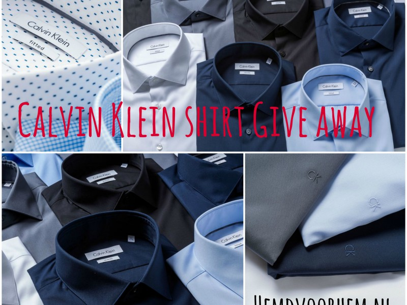 HemdvoorHem.nl CalvinKlein shirt give away JustKVN menswear and lifestyle blog
