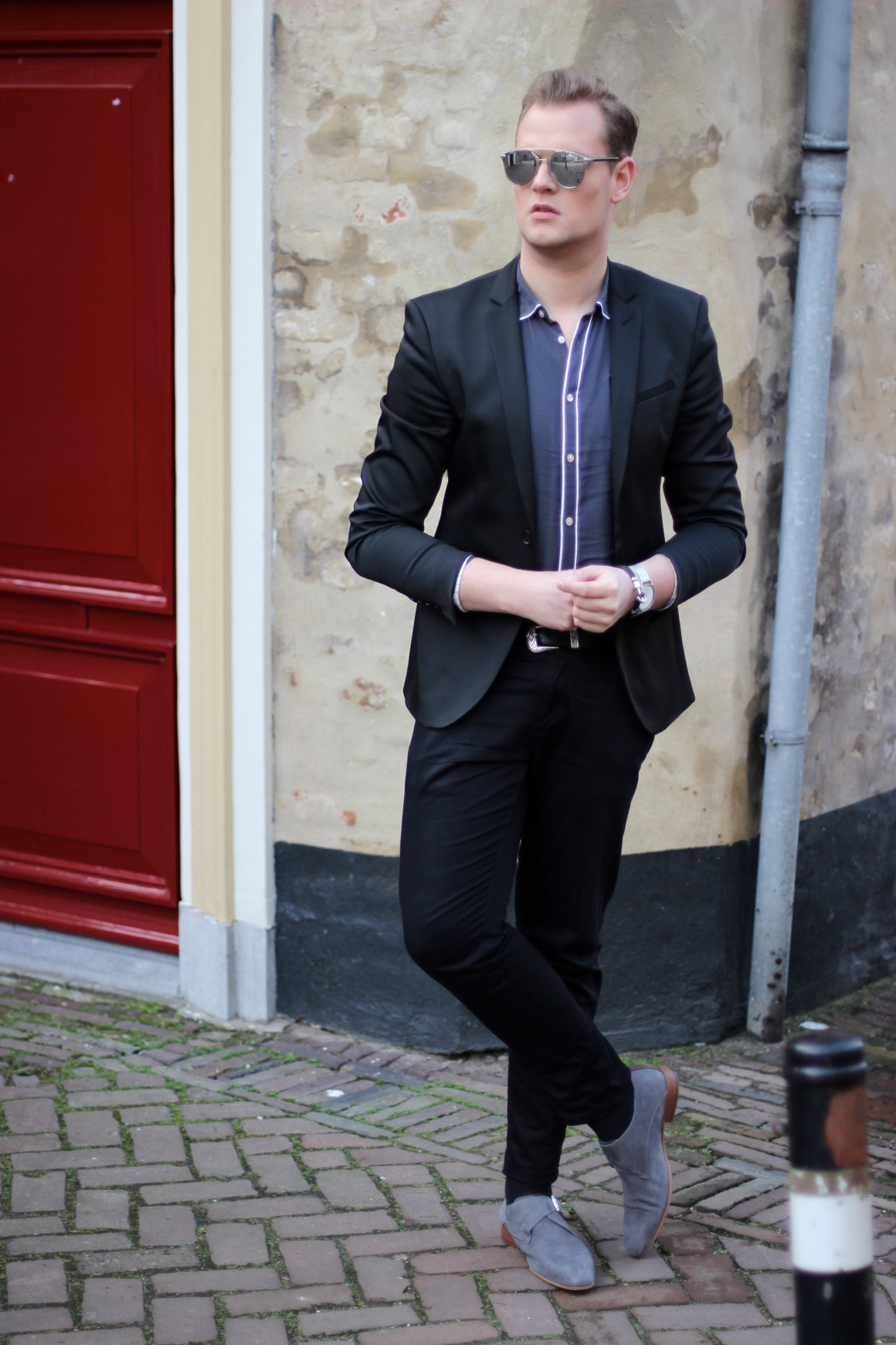 Mister Grey outfit JustKVN menswear and lifestyle blog