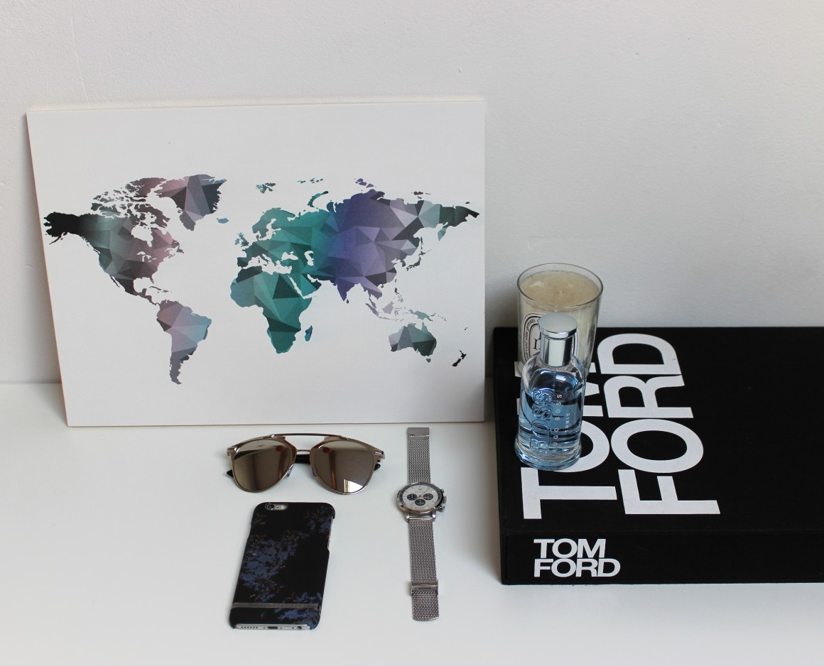 Traveling the world with Wereldkaarten.nl JustKVN menswear and lifestyle blog