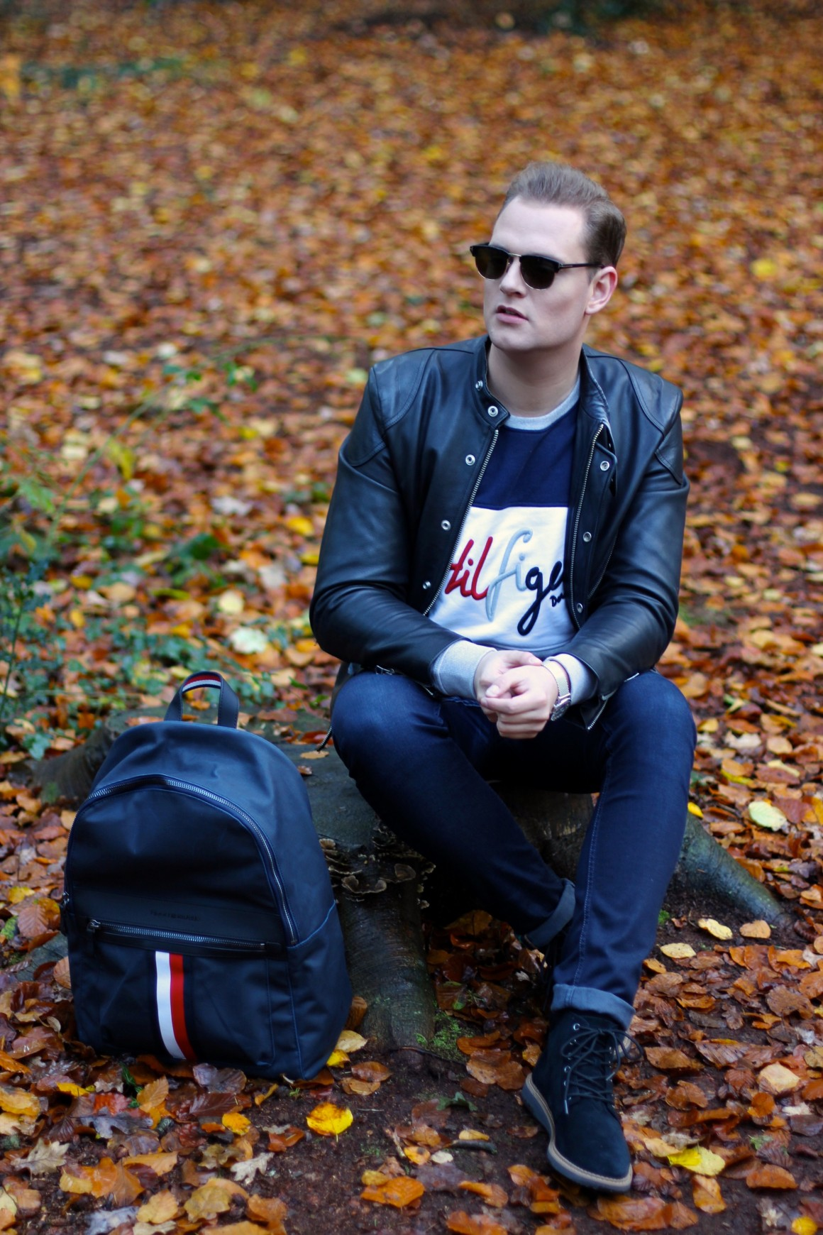 Hilfiger in the Woods JustKVN menswear and lifestyle blog