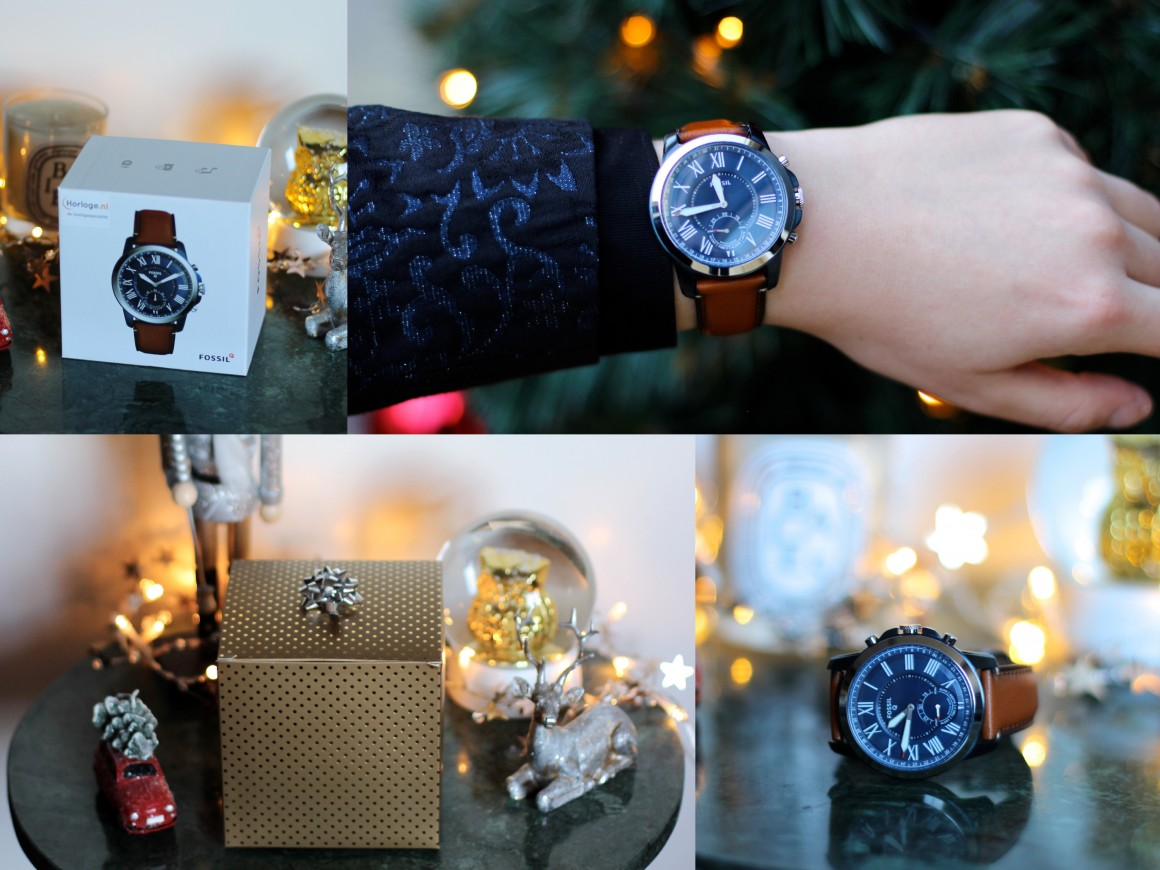 Fossil Q Grant Hybride Watch Last minute Christmas Gift JustKVN menswear and lifestyle blog