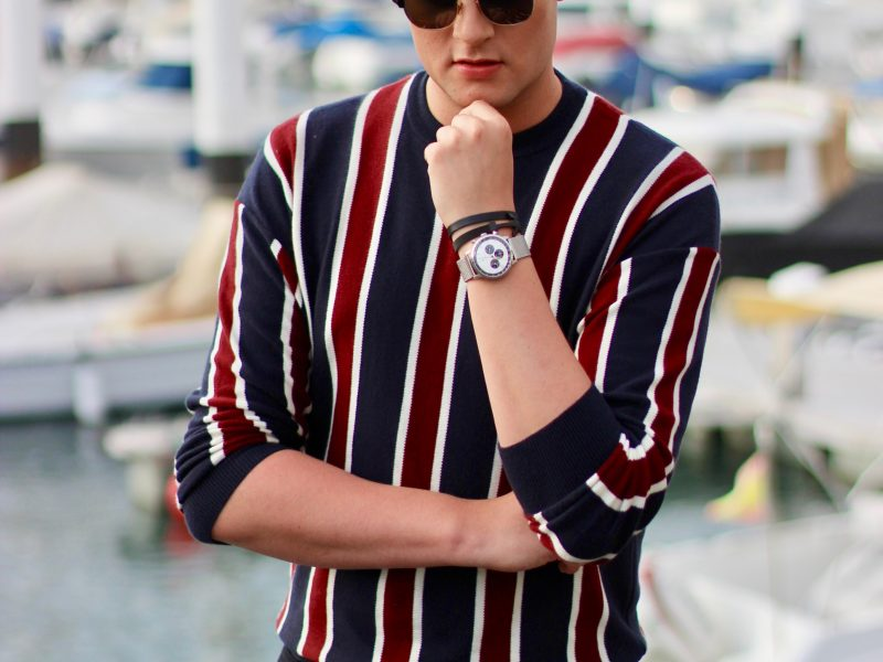 Stripes in Tenerife JustKVN menswear and lifestyle blog