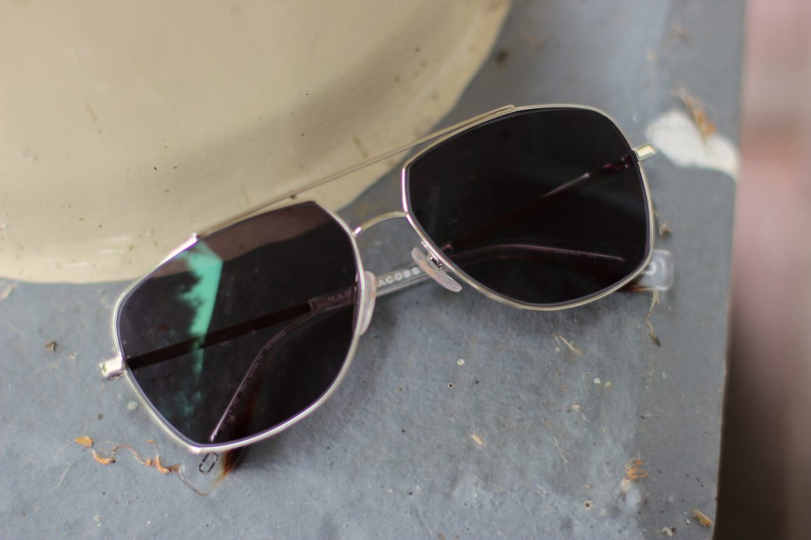 70's trend with sunglasses from Specsavers JustKVN MARC JACOBS