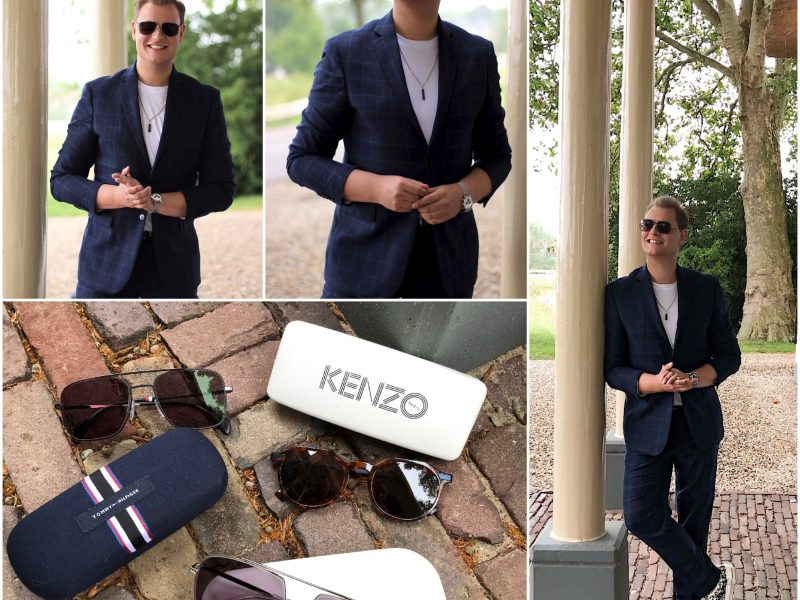 70's trend with sunglasses from Specsavers JustKVN menswear and lifestyle blog